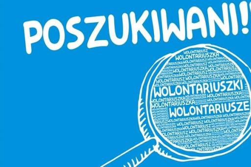 Ilustracja do informacji: Poszukiwani wolontariusze!