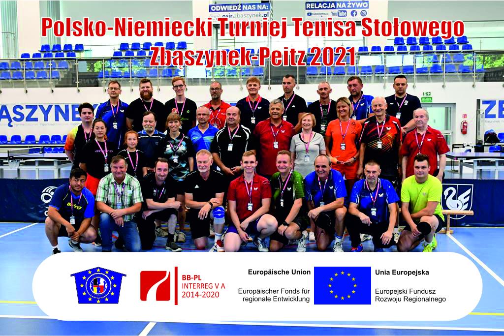Ilustracja do informacji: Polsko-Niemiecki Turniej Tenisa Stołowego Zbąszynek-Peitz 2021