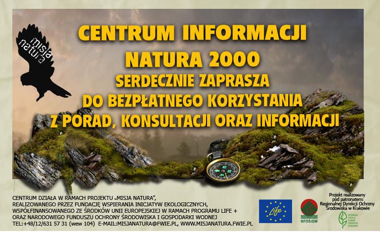 Ilustracja do informacji: Centrum Informacji Natura 2000